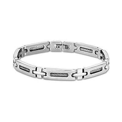 Bracelet Lotus LS1802-2/1 - Acier et Câble -