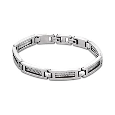 Bracelet Lotus LS1507-2/1 - Acier et Câble -