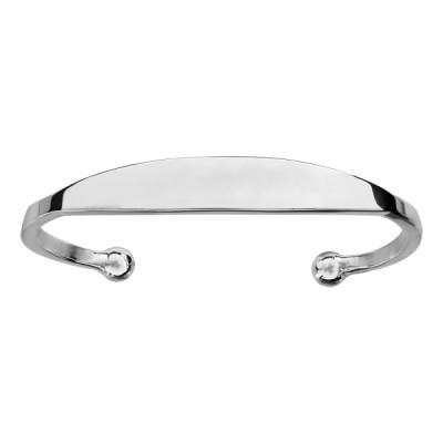 Bracelet esclave argent - Poignet 16cm -