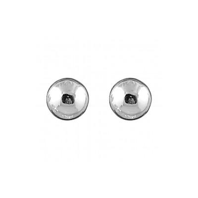 Boucles d'oreilles argent - Boules 10 mm -