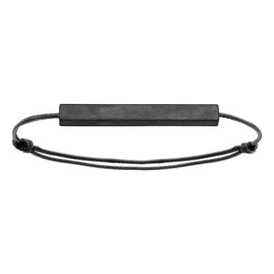 Bracelet Cordon Acier - A graver -