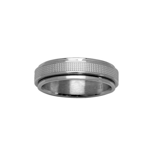 Alliance Acier - Mode - Anti-Stress - Largeur 5,6 mm -